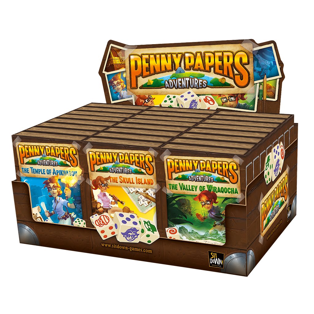 Display Penny Papers