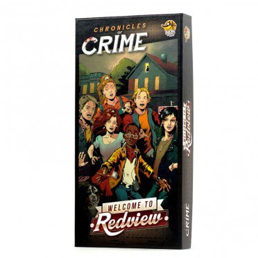 CHRONICLES OF CRIME - Ext. Welcome to Redview