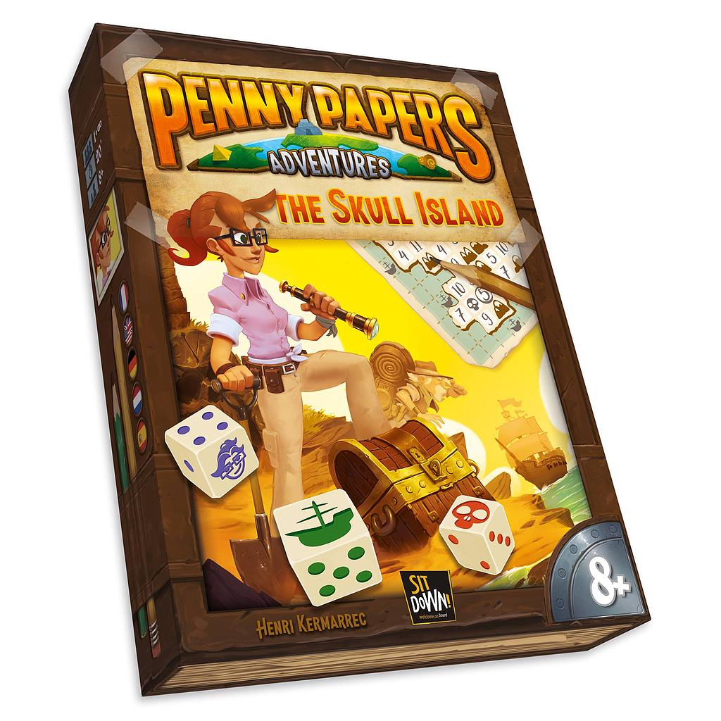 PENNY PAPERS : SKULL ISLAND