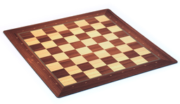 [00835] PLAYMAT Chess Woodden Style