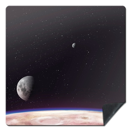 [00841] PLAYMAT Deep Planet 92x92