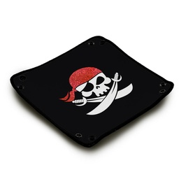 [01393] Dice Tray - Pirate Bandana
