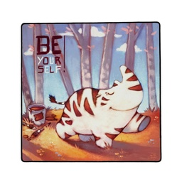 [01401] PLAYMAT Be Yourself 40x40