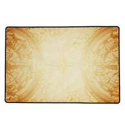 [01402] PLAYMAT Compass Sepia 60x40
