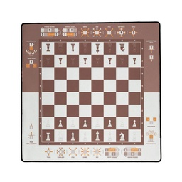 [01403] PLAYMAT Learn Chess 60x60